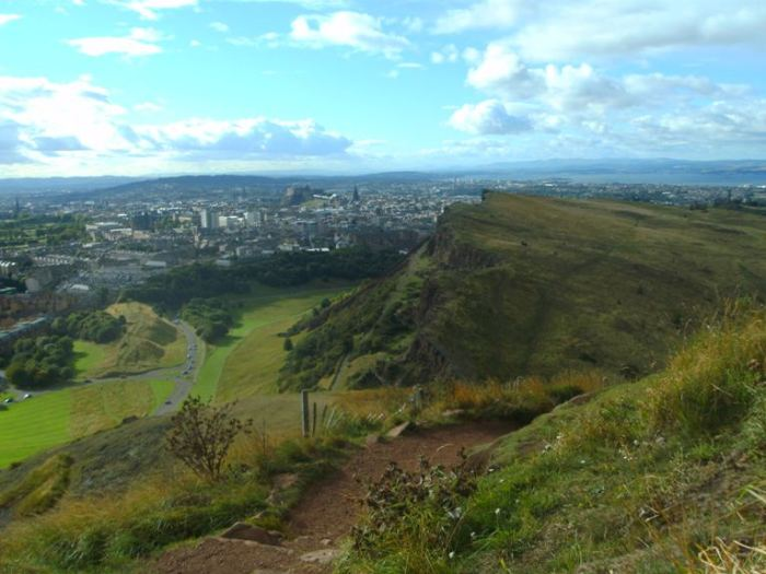 The Path to Arthur's Seat, Edinburgh, Scotland