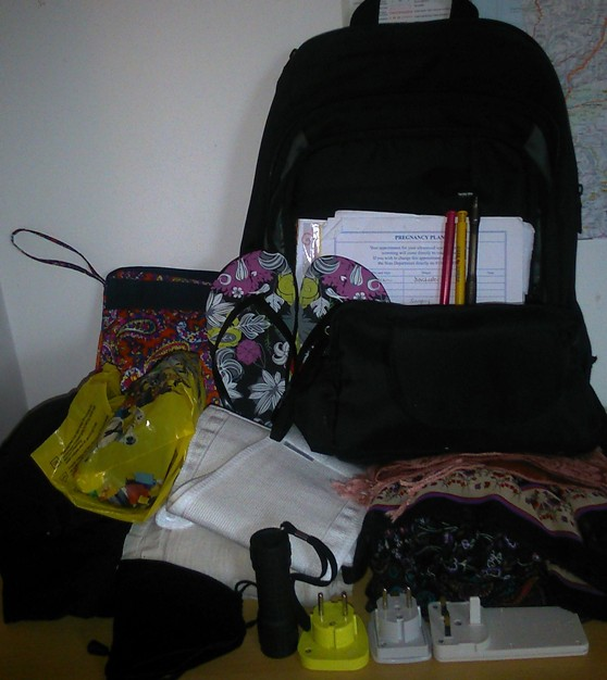 luggage, travelling lightly, packing lightly