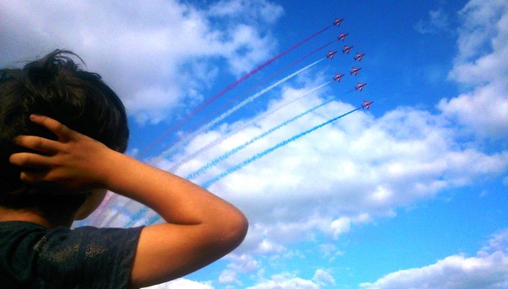 Weymouth Carnival, Red Arrows