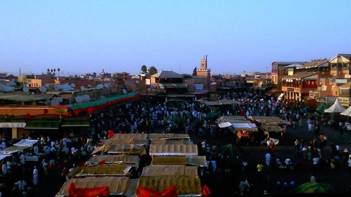 Jemaa El Fna square, Marrakech, Eid El Fitr 2014