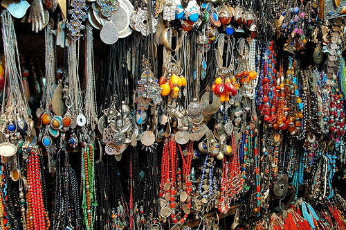 Jewellery, Marrakech, Morocco, souk
