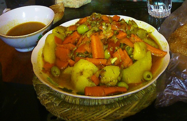 Tagine, vegetable tagine, Moroccan cooking