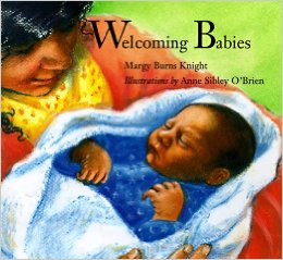 welcoming babies book cover