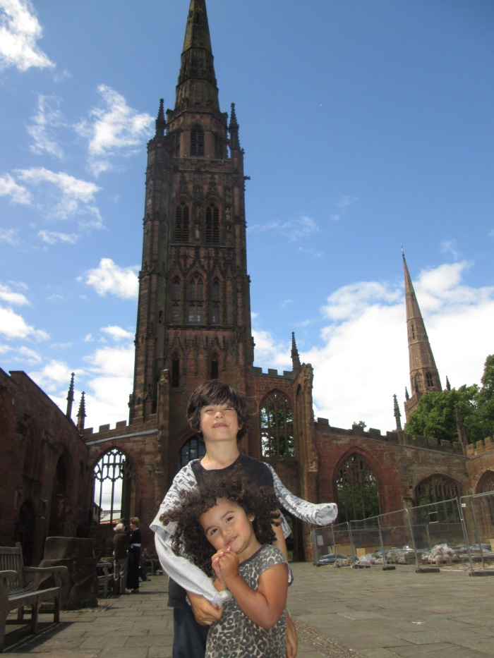 Coventry Cathedral tower